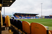 A general view of Field Mill, home of Mansfield Town FC<br /> <br /> Photographer Chris Vaughan/CameraSport<br /> <br /> The EFL Sky Bet League Two - Mansfield Town v Lincoln City - Monday 18th March 2019 - Field Mill - Mansfield<br /> <br /> World Copyright © 2019 CameraSport. All rights reserved. 43 Linden Ave. Countesthorpe. Leicester. England. LE8 5PG - Tel: +44 (0) 116 277 4147 - admin@camerasport.com - www.camerasport.com