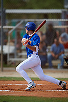 Mason Denaburg (23) while playing for Central Florida Gators based out of Altamonte Springs, Florida during the WWBA World Championship at the Roger Dean Complex on October 19, 2017 in Jupiter, Florida.  Mason Denaburg (23) is a catcher / pitcher from Merritt Island, Florida who attends Merritt Island High School.  (Mike Janes/Four Seam Images)
