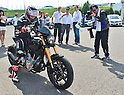 Keanu Reeves shows off his Arch KRGT-1 bike in Japan