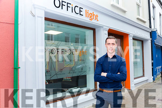 Declan Sugrue of 3DS Designs opened a new shared office space in Cahersiveen on Monday.