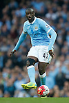Yaya Toure of Manchester City during the Barclays Premier League match at Old Trafford. Photo credit should read: Philip Oldham/Sportimage