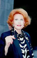 Arlene Dahl 1985 by Jonathan Green