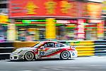 John Shen races the Macau GT Cup during the 61st Macau Grand Prix on November 16, 2014 at Macau street circuit in Macau, China. Photo by Aitor Alcalde / Power Sport Images