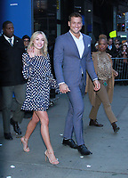 NEW YORK, NY - March 13: Colton Underwood and Cassie Randolph of The Bachelor at Good Morning America in New York City. March 13, 2019.<br /> CAP/MPI/RW<br /> &copy;RW/MPI/Capital Pictures