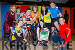 Launching the Killorglin Community College 2Lakes Challenge 12k, 40k and 60k cycle in which will be held on March 12th were front  Marieke O'Connor Suzanne Murphy and Gavin Quinlivin back l-r: Catherine O'Riordan, Angela Mitchell, Conor Roche, Melissa O'Riordan, Saoirse Riordan-Looney, Eoin Doyle