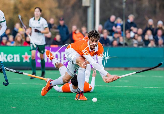BLOEMENDAAL - Florian Fuchs (Bldaal) tijdens  hoofdklasse competitiewedstrijd  heren , Bloemendaal-Rotterdam (1-1) .COPYRIGHT KOEN SUYK