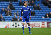 Craig Noone of Cardiff City during the Sky Bet Championship match between Cardiff City and Ipswich Town at The Cardiff City Stadium, Cardiff, Wales, UK. Saturday 18 March 2017