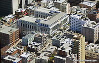 aerial photograph Ritz Carlton hotel San Francisco California