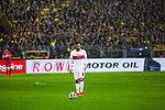09.03.2019, Signal Iduna Park, Dortmund, GER, 1.FBL, Borussia Dortmund vs VfB Stuttgart, DFL REGULATIONS PROHIBIT ANY USE OF PHOTOGRAPHS AS IMAGE SEQUENCES AND/OR QUASI-VIDEO<br /> <br /> im Bild   picture shows:<br /> Freistoss durch Gonzalo Castro (VfB Stuttgart #8), <br /> <br /> Foto &copy; nordphoto / Rauch