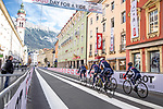 France Team training ride before the 2018 UCI Road World Championships, Innsbruck-Tirol, Austria 2018. 26th September 2018.<br /> Picture: Innsbruck-Tirol 2018 | Cyclefile<br /> <br /> <br /> All photos usage must carry mandatory copyright credit (&copy; Cyclefile | Innsbruck-Tirol 2018)