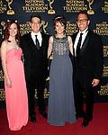 LOS ANGELES - APR 24: Matt Englebert, Eli Englebert at The 42nd Daytime Creative Arts Emmy Awards Gala at the Universal Hilton Hotel on April 24, 2015 in Los Angeles, California