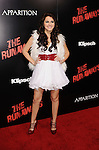 HOLLYWOOD, CA. - March 11: Scout Taylor-Compton arrives at the Los Angeles Premiere of The Runaways at ArcLight Cinemas Cinerama Dome on March 11, 2010 in Hollywood, California.