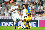 Real Madrid's Carlos Henrique Casemiro (l) and Apoel FC's Vinicius during Champions League Group H match 1. September 13,2017. (ALTERPHOTOS/Acero)