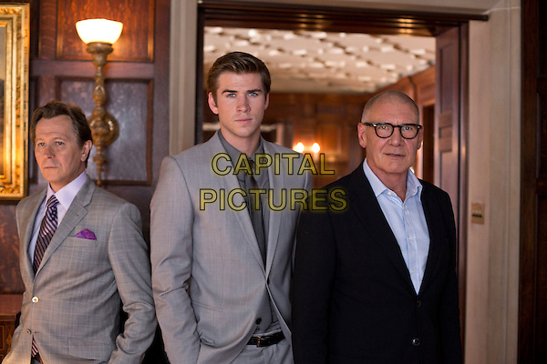 GARY OLDMAN, LIAM HEMSWORTH, HARRISON FORD<br /> in Paranoia (2013) <br /> *Filmstill - Editorial Use Only*<br /> CAP/FB<br /> Image supplied by Capital Pictures