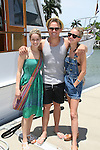 Marnie Schulenburg & Billy Magnussen  & Meredith Hagner - ATWT during 12th Annual SoapFest - Actors take a break on the Ramblin' Rose with Ken as the captain on May 14, 2010 on Marco Island, FLA. (Photo by Sue Coflin/Max Photos)