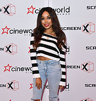 Dionne Bromfield<br /> Launch party of Cineworld Group's new Korean-developed technology, using projections on the side of theatre walls to create a 270 degree viewing experience, at Cineworld Greenwich, The O2, London, England, UK.<br /> CAP/JOR<br /> &copy;JOR/Capital Pictures