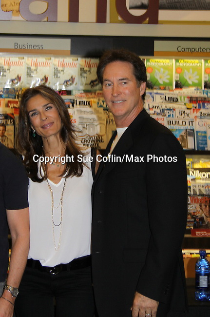 "Days Of Our Lives - Kristian Alfonso & Drake Hogestyn  meet the fans as they sign ""Days Of Our Lives Better Living"" on September 27, 2013 at Books-A-Million in Nashville, Tennessee. (Photo by Sue Coflin/Max Photos)"