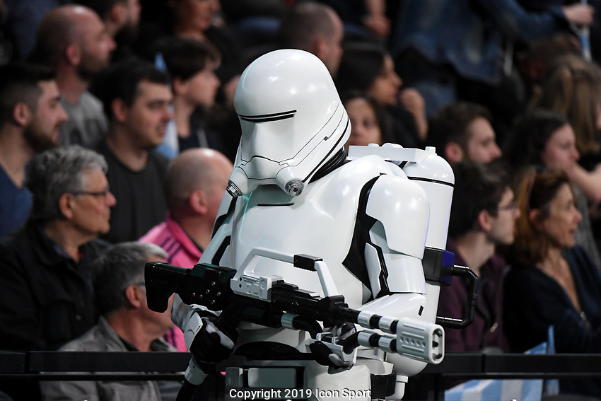 Illustration picture of Star Wars during the Top 14 match between Racing 92 and Stade francais at Paris La Defense Arena on May 5, 2019 in Nanterre, France. (Photo by Anthony Dibon/Icon Sport)
