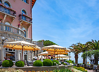 Croatia, Kvarner Gulf, Opatija: Café Wagner at Amadria Park Hotel Milenij, a 5-stars-hotel | Kroatien, Kvarner Bucht, Opatija: Café Wagner im Amadria Park Hotel Milenij, einem 5-Sterne-Hotel