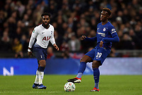 Callum Hudson-Odoi of Chelsea and Danny Rose of Tottenham Hotspur during Tottenham Hotspur vs Chelsea, Caraboa Cup Football at Wembley Stadium on 8th January 2019