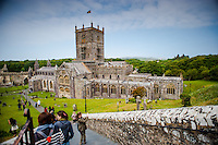 Thursday  19  June  2014<br /> <br /> Pictured: St Davids Cathedral Re:  Views of St Davids