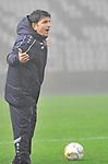 Waldhofs Trainer Kenan Kocak  beim Spiel in der Regionalliga Suedwest SV Spielberg - SV Waldhof Mannheim.<br /> <br /> Foto © PIX-Sportfotos *** Foto ist honorarpflichtig! *** Auf Anfrage in hoeherer Qualitaet/Aufloesung. Belegexemplar erbeten. Veroeffentlichung ausschliesslich fuer journalistisch-publizistische Zwecke. For editorial use only.
