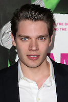 "LOS ANGELES, CA - FEBRUARY 04: Dominic Sherwood at the Los Angeles Premiere Of The Weinstein Company's ""Vampire Academy"" held at Regal Cinemas L.A. Live on February 4, 2014 in Los Angeles, California. (Photo by Xavier Collin/Celebrity Monitor)"
