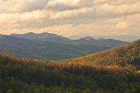 Spring vista, Black Rock Mountain State Park, Georgia