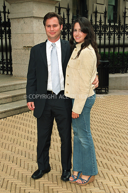 "Jason Binn and wife attending the party ""Cocktails in the Garden"" at Cooper-Hewitt National Design Museum on Upper East Side in New York. July 24, 2002. Please byline: Alecsey Boldeskul/NY Photo Press.   ..*PAY-PER-USE*      ....NY Photo Press:  ..phone (646) 267-6913;   ..e-mail: info@nyphotopress.com"