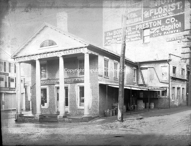 Frederick Stone negative. Apothecaries Hall Feb., 1894.