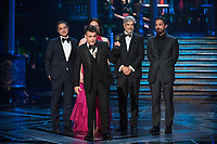 Sebasti&aacute;n Lelio accepts the Oscar&reg; for Best foreign language film of the year, for work on &ldquo;A Fantastic Woman&rdquo; from Chile during the live ABC Telecast of The 90th Oscars&reg; at the Dolby&reg; Theatre in Hollywood, CA on Sunday, March 4, 2018.<br /> *Editorial Use Only*<br /> CAP/PLF/AMPAS<br /> Supplied by Capital Pictures