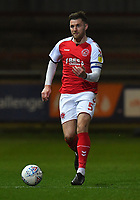 Fleetwood Town's Ashley Eastham<br /> <br /> Photographer Dave Howarth/CameraSport<br /> <br /> Leasing.com Trophy Northern Section Round Three - Fleetwood Town v Accrington Stanley - Tuesday 7th January 2020 - Highbury Stadium - Fleetwood<br />  <br /> World Copyright © 2018 CameraSport. All rights reserved. 43 Linden Ave. Countesthorpe. Leicester. England. LE8 5PG - Tel: +44 (0) 116 277 4147 - admin@camerasport.com - www.camerasport.com