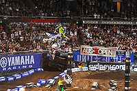 Chad Reed (Yamaha) final<br />  AUS-X Open / SX1<br /> Sydney NSW Saturday 28 November 2015<br /> &copy; Sport the library / Courtney Crow