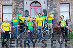 Wk7 Killorglin Archive Photo reproduction<br /> A group of Killorglin cyclists gathered at The Manor Inn, Killorglin on Saturday to reproduce an iconic photograph from 150 years ago<br /> <br /> Front L-R Miceal O'Callaghan, Gene Mangan, <br /> 2nd Row  L-R  Denis Mangan, John Mangan, Donal Clifford, Micheal Kilcannon, Micheal O'Shea<br /> Back L-R Joe Healy, Daniel Clifford, Micheal Kilcannon<br /> <br /> <br /> L-R Miceal O'Callaghan, Denis Mangan, Joe Healy, Daniel Clifford,