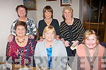 Old friends : Tralee ladies had a night of fun for their Christmas get together in Bella Bia restaurant in their own town on Saturday night last (seated) L-R Eleanor kelliher, Mary Sheehan & Kathleen Ashe (back) L-R Mary O'Dowd, Maureen Scannell and Una Buckley.
