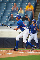 Matt Mervis (24) of Georgetown Preparatory in Potomac, Maryland playing for the Chicago Cubs scout team during the East Coast Pro Showcase on July 28, 2015 at George M. Steinbrenner Field in Tampa, Florida.  (Mike Janes/Four Seam Images)