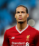 Liverpool's Virgil Van Dijk during the Champions League Quarter Final 2nd Leg match at the Etihad Stadium, Manchester. Picture date: 10th April 2018. Picture credit should read: David Klein/Sportimage