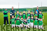 Milltown Castlemaine GAA U8's at the John Mitchels GAA  Juvenile tournament on Saturday