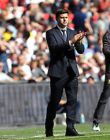 Tottenham Hotspur manager Mauricio Pochettino during Tottenham Hotspur vs Liverpool, Premier League Football at Wembley Stadium on 15th September 2018