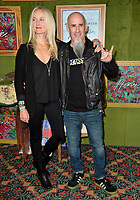 "LOS ANGELES, CA. October 04, 2018: Pearl Aday and Scott Ian at the Los Angeles premiere for ""My Dinner With Herve"" at Paramount Studios.<br /> Picture: Paul Smith/Featureflash"