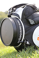 Robert Coles (ENG) bag with Berenberg sponsorship branding at the 2013 ISPS Handa Wales Open from the Celtic Manor Resort, Newport, Wales. Picture:  David Lloyd / www.golffile.ie
