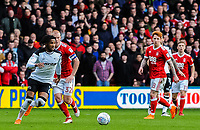 Derby County's midfielder Kasey Palmer (7) on the ball in midfield during the Sky Bet Championship match between Nottingham Forest and Derby County at the City Ground, Nottingham, England on 10 March 2018. Photo by Stephen Buckley / PRiME Media Images.