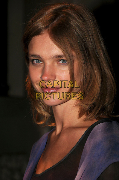 NATALIA VODIANOVA.Spotted during London Fashion Week, London, England..September 15th, 2008.LFW headshot portrait .CAP/CAS.©Bob Cass/Capital Pictures.