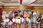 CHORAL: The Kerry Choral Union held a retirement party for Kevin Murphy at The Meadowlands Hotel, Tralee, on Saturday night, where many of Kevin's family and friends attended. Kevin is seated 6th from left..