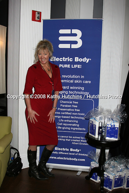 Electric Beauty.GBK Productions Oscar Gifting Suite.Boulevard3.Los Angeles, CA.February 22, 2008.©2008 Kathy Hutchins / Hutchins Photo....