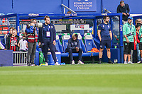 Huddersfield's Nathaniel Chalobah watches on from the side-line<br /> <br /> Luke Brennan/CameraSport<br /> <br /> The EFL Sky Bet Championship - Queens Park Rangers v Huddersfield Town - Saturday 10th August 2019 - Loftus Road - London<br /> <br /> World Copyright © 2019 CameraSport. All rights reserved. 43 Linden Ave. Countesthorpe. Leicester. England. LE8 5PG - Tel: +44 (0) 116 277 4147 - admin@camerasport.com - www.camerasport.com