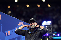 Liverpopol's coach Jurgen Klopp celebrates at the end of the UEFA Champions League final football match between Tottenham Hotspur and Liverpool at Madrid's Wanda Metropolitano Stadium, Spain, June 1, 2019. Liverpool won 2-0.<br /> UPDATE IMAGES PRESS/Isabella Bonotto