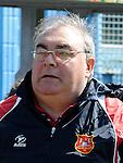 Grove Rangers manager Bren Gregory. Photo: Colin Bell/pressphotos.ie