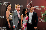 Jaime Murray, Tony Curran, Julie Benz, Grant Bowler photocall at the Grimaldi Forum on June 9, 2014 in Monte-Carlo, Monaco.