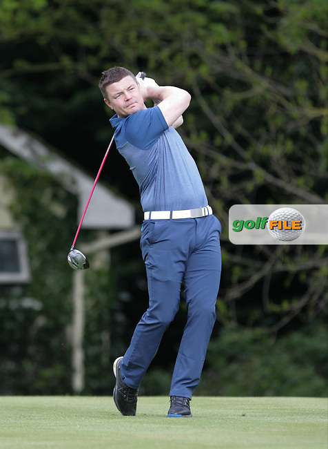 Brian O' Driscoll during Wednesday's Pro-Am ahead of the 2016 Dubai Duty Free Irish Open Hosted by The Rory Foundation which is played at the K Club Golf Resort, Straffan, Co. Kildare, Ireland. 18/05/2016. Picture Golffile | TJ Caffrey.<br />